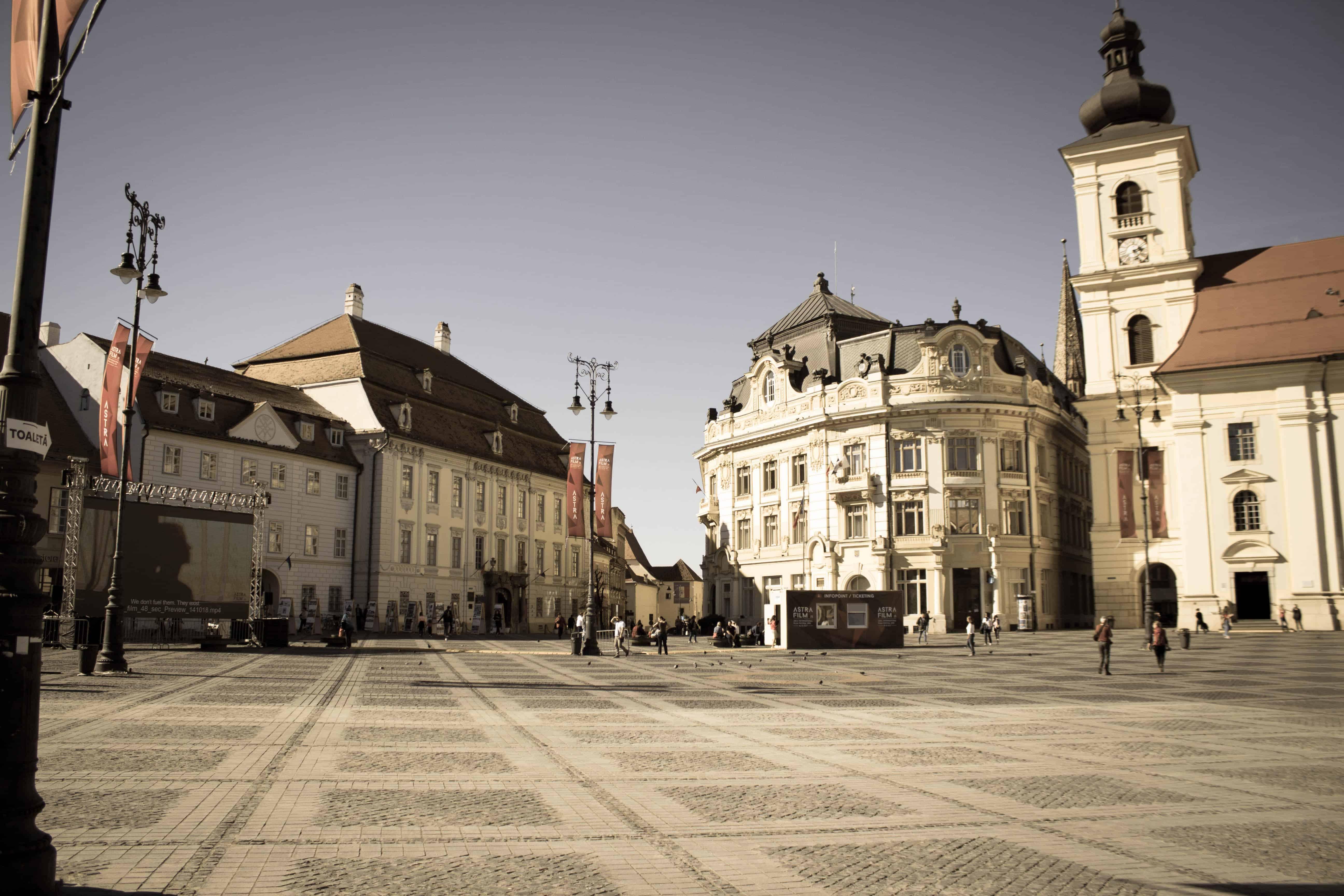 Cazare in apropiere de centrul vechi al Sibiului